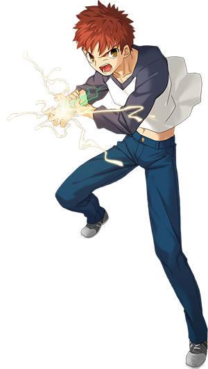 Create your own Smash Character! Shirou300